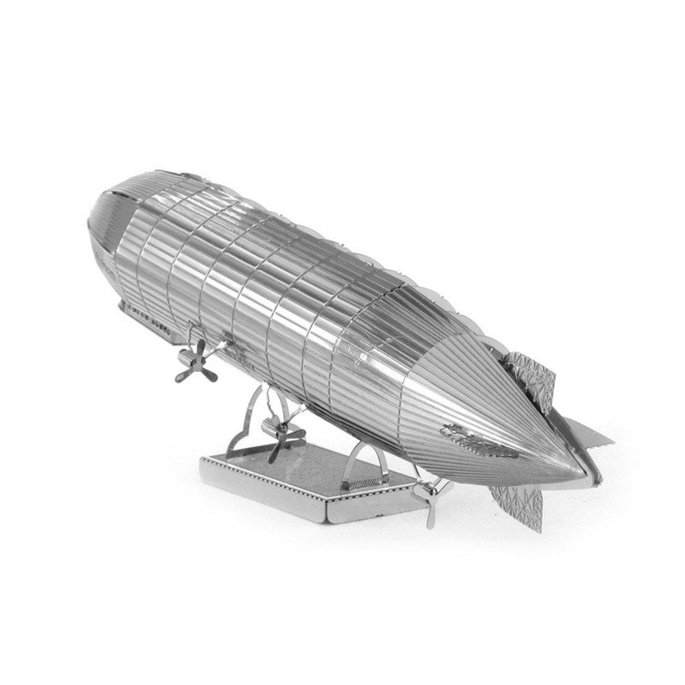 Unique Creative Zeppelin Airship 3D Metal High-quality DIY Laser Cut Puzzles Jigsaw Model Toy