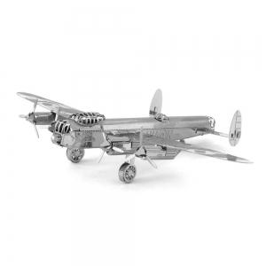 Creative Lancaster Bomber 3D Metal High-quality DIY Laser Cut Puzzles Jigsaw Model Toy -