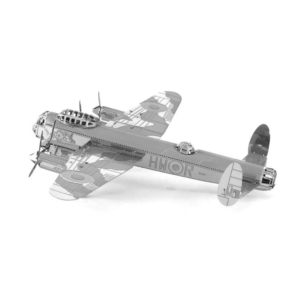 Best Creative Lancaster Bomber 3D Metal High-quality DIY Laser Cut Puzzles Jigsaw Model Toy