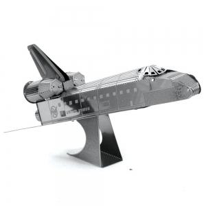 Creative Space Shuttle 3D Metal High-quality DIY Laser Cut Puzzles Jigsaw Model Toy -