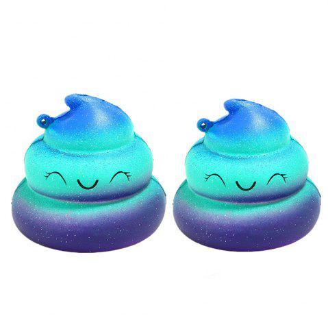 Latest Jumbo Squishy Poop Emoji Stress Relief Soft Toy for Kids and Adults 2PCS