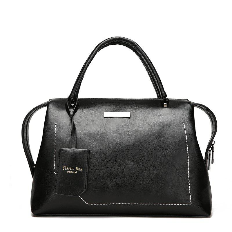 Best The New Wild Oblique Messenger Shoulder Simple Personality European and American Fashion Diagonal Handbag