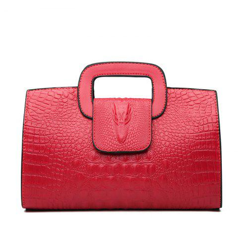 Sale Snake Leather Clutch Bag Female European and American Fashion Portable Handbags Small