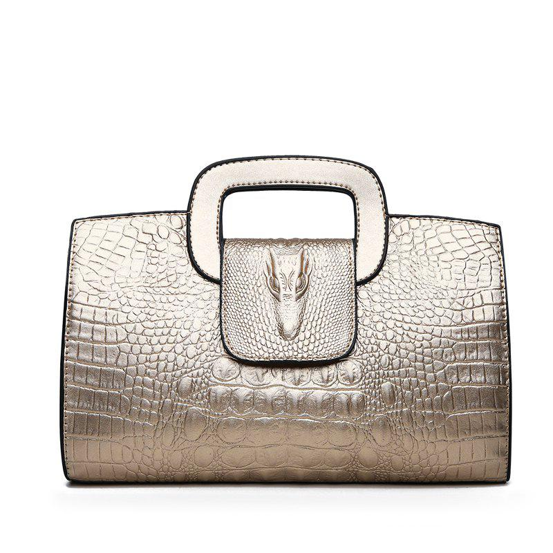 Discount Snake Leather Clutch Bag Female European and American Fashion Portable Handbags Small