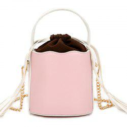 Tassel Bucket Bag Oblique Cross Package -