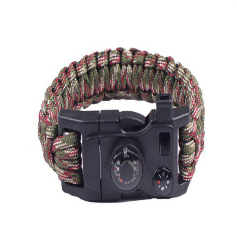 Buy Multifunctional Outdoor Camping Rescue Survival Bracelet