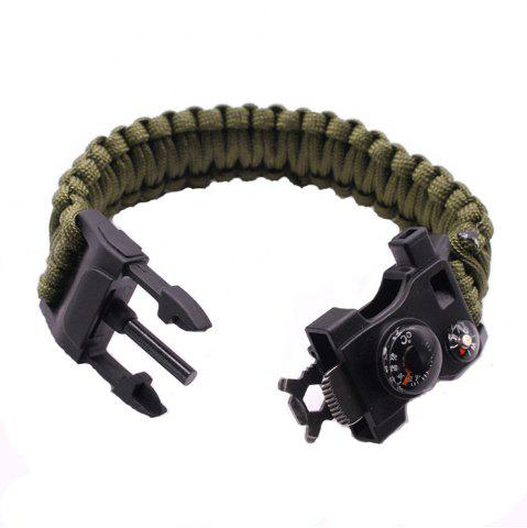 New Multifunctional Outdoor Camping Rescue Survival Bracelet