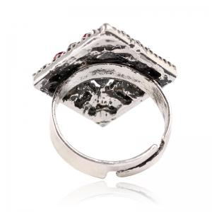 Ouverture de Tempérament Fashion Diamond Ring Geometry -