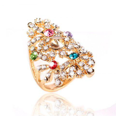Outfit Fashion Temperament Crystal Female Ring