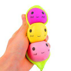 Jumbo Squishy Pois Élégants Accrocher PU Stress Reliever Jouet -