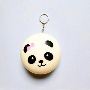 Jumbo Squishy Stylish Panda Hang PU Stress Reliever Toy -