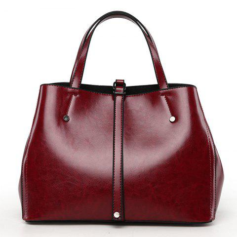 Online Female Fashion Atmospheric Shoulder Bag Simple Messenger Handbag
