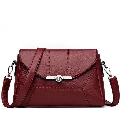 Best Middle-aged Female Mother Shoulder Messenger Bag Atmospheric Soft Leather Diagonal Package