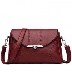 Middle-aged Female Mother Shoulder Messenger Bag Atmospheric Soft Leather Diagonal Package -