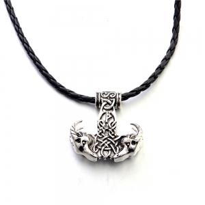 Europe and The United States Explosions Goat Head Large Quake Hammer Pendant Men's Necklace -