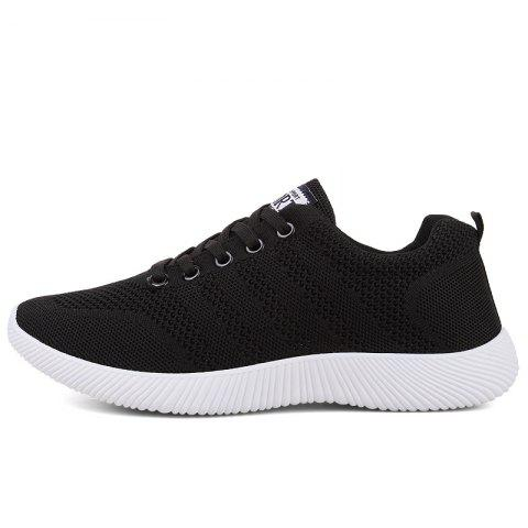 Latest New Men Round Head Youth Breathable Cool Mesh Casual Sports Shoes