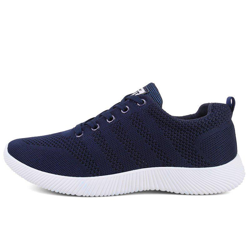 Best New Men Round Head Youth Breathable Cool Mesh Casual Sports Shoes