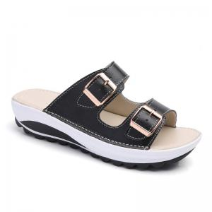 New Ladies Fashionable Leather Slippers -