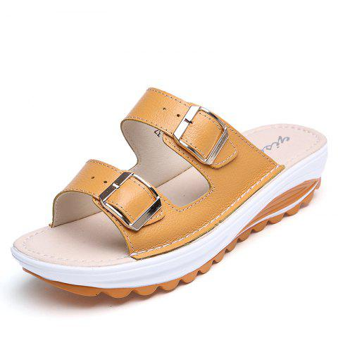 Best New Ladies Fashionable Leather Slippers