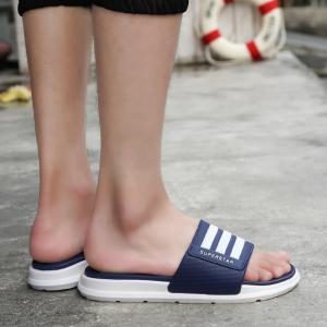 New Men Summer Trend Dry and Clear Lightweight Slippers -