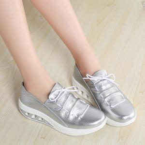 New Women Lightweight Breathable Simple Fashion White Shoes -