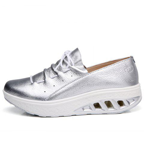 Cheap New Women Lightweight Breathable Simple Fashion White Shoes
