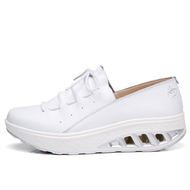 Outfits New Women Lightweight Breathable Simple Fashion White Shoes