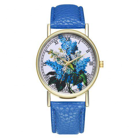 Latest Zhou Lianfa Brand Fashionable Lilac Ladies  Watch