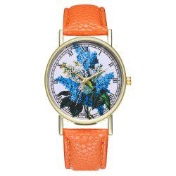 Zhou Lianfa Brand Fashionable Lilac Ladies  Watch -