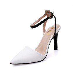 Pointed Hollow Head Shoes -