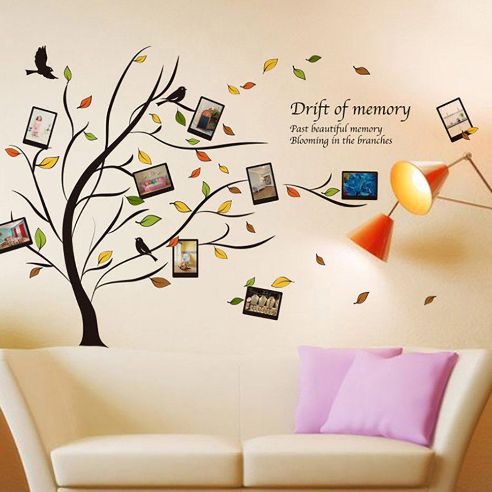 Unique Art Photo Frame Tree Wall Sticker