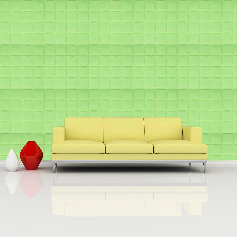 Slime Green 35x35cm 3d Self-adhesive Foam Wall Sticker | Rosegal.com