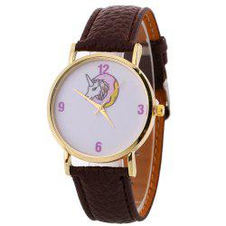 Unicorn Pattern Bracelet Watch -