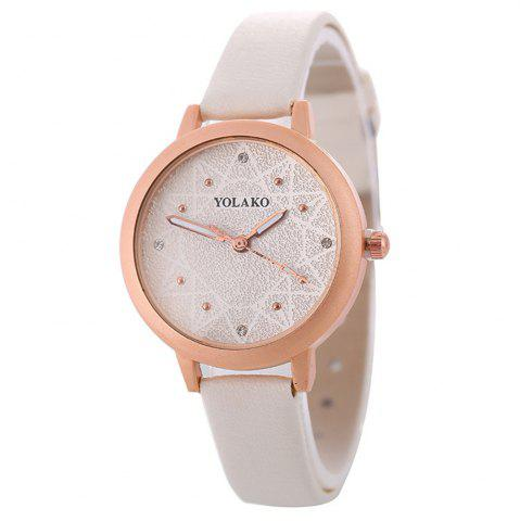 Store Women Alloy Watch with Artificial Diamond