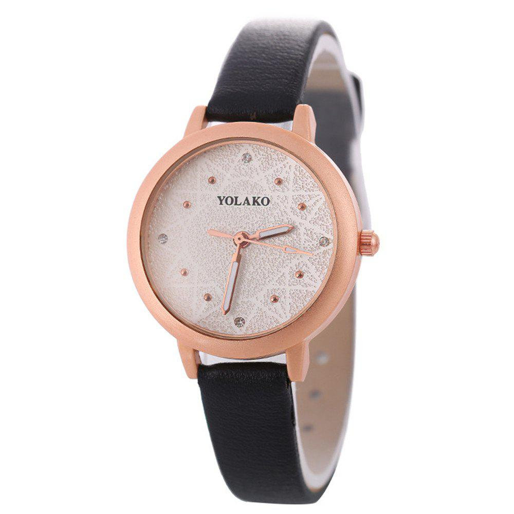 Outfits Women Alloy Watch with Artificial Diamond