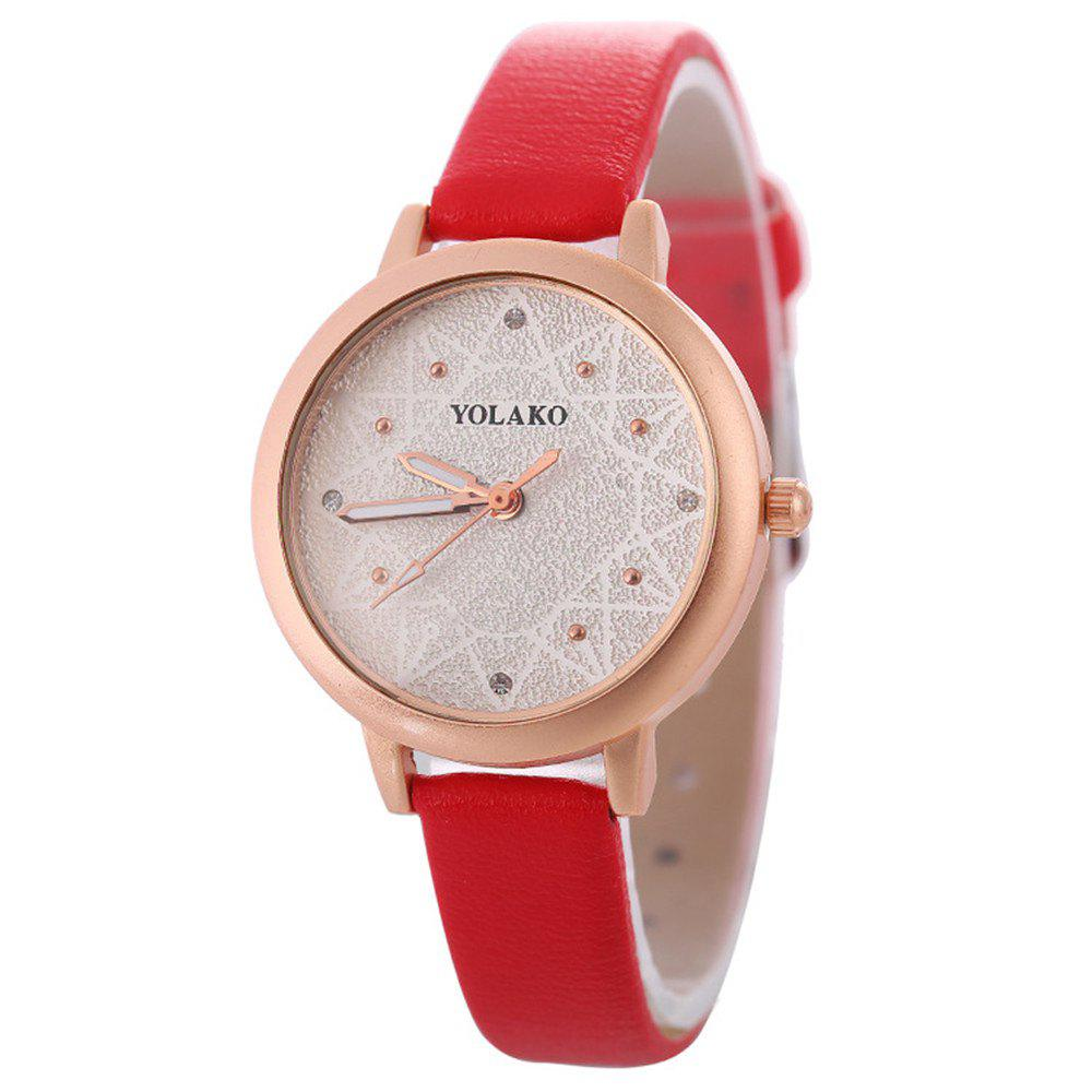 Outfit Women Alloy Watch with Artificial Diamond