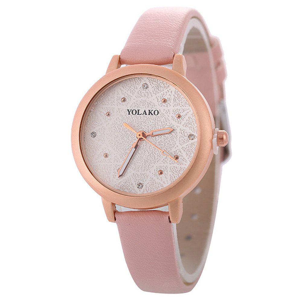 Best Women Alloy Watch with Artificial Diamond
