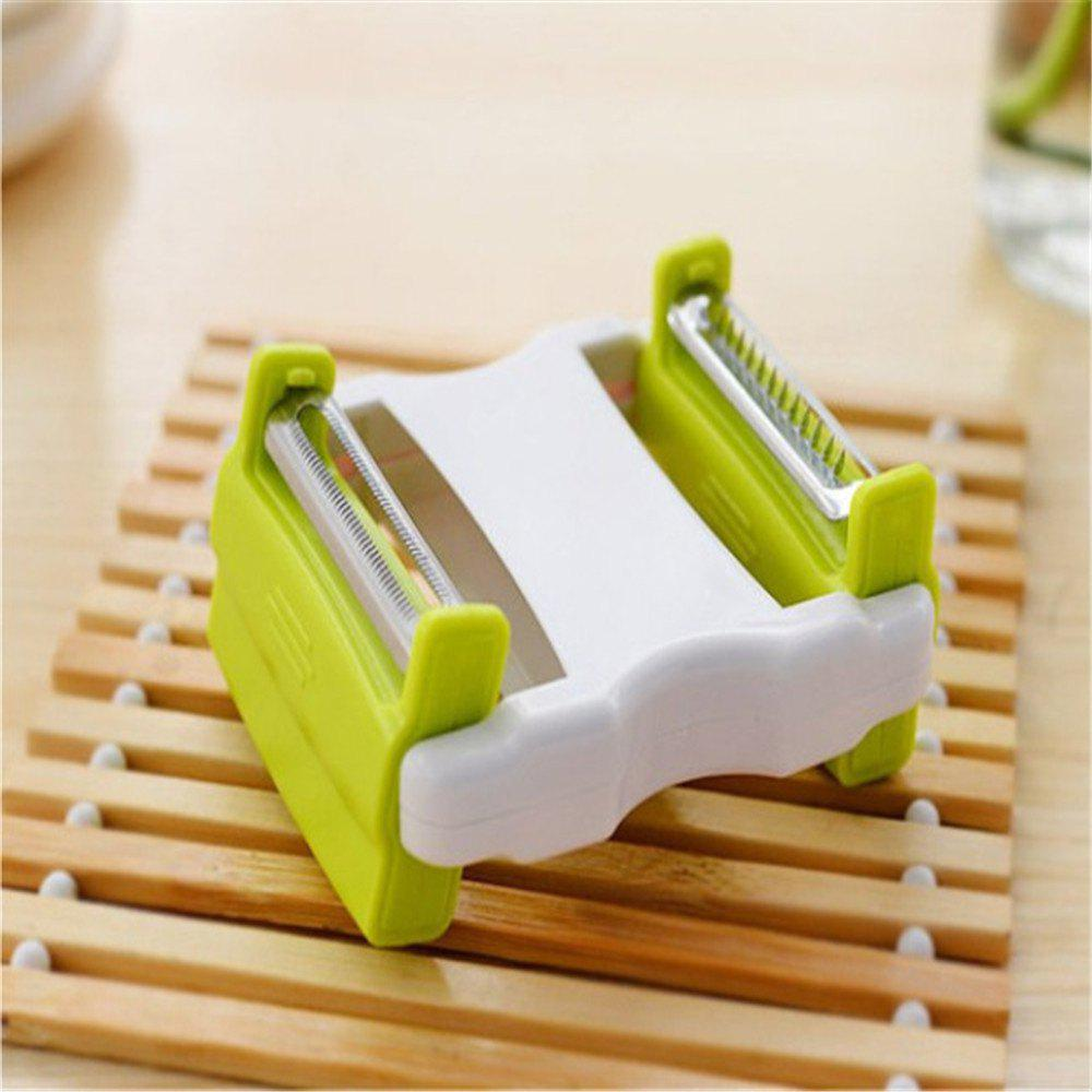 Shops Telescopic Portable Multifunctional Fruit and Vegetable Peeler Bidirectional Flip Planer