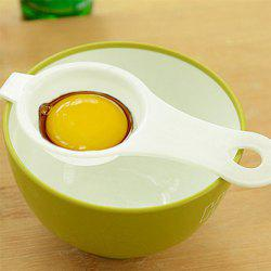 Best Selling Environmentally Friendly Transparent Egg Yolk Separator Egg Splitter Hand Tools -