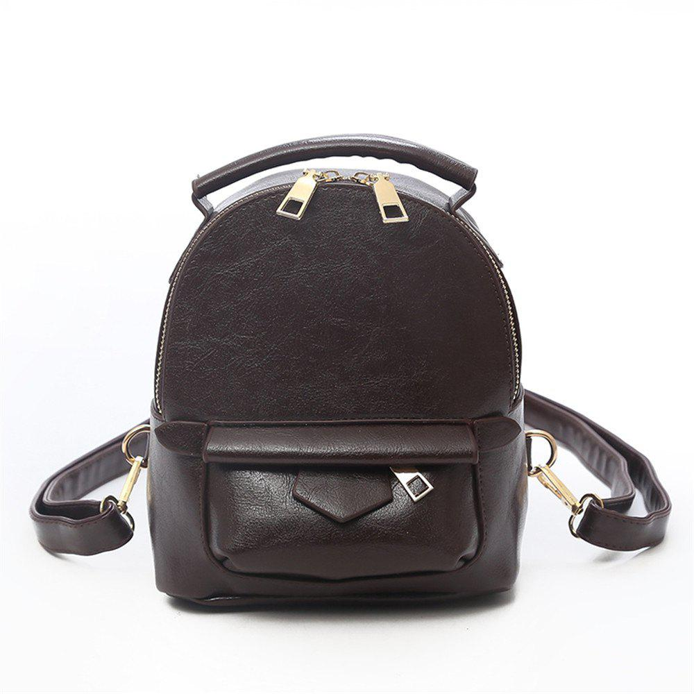 Affordable Fashion Wild Simple Small Fresh Large Capacity Female Backpack Tide