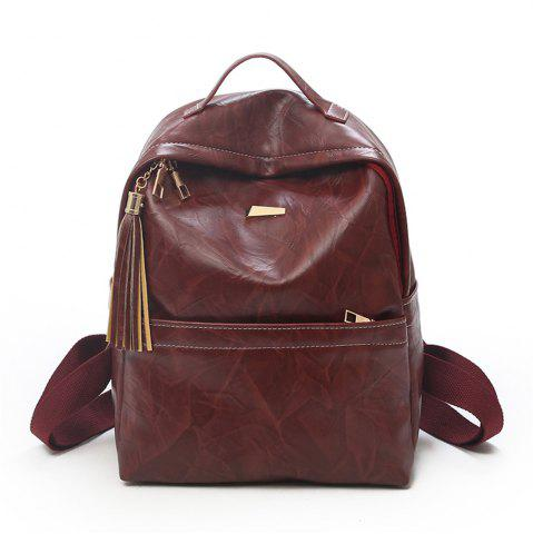 Outfits Fashion Wild Simple Large Capacity Small Fresh and Lovely Female Travel Backpack Tide