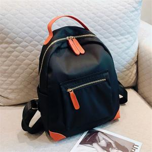 Canvas Large Capacity Simple Wild Fashion Small Fresh Female Backpack Tide -