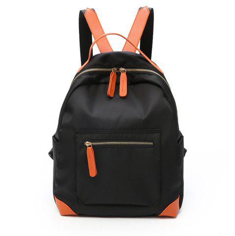 Latest Canvas Large Capacity Simple Wild Fashion Small Fresh Female Backpack Tide