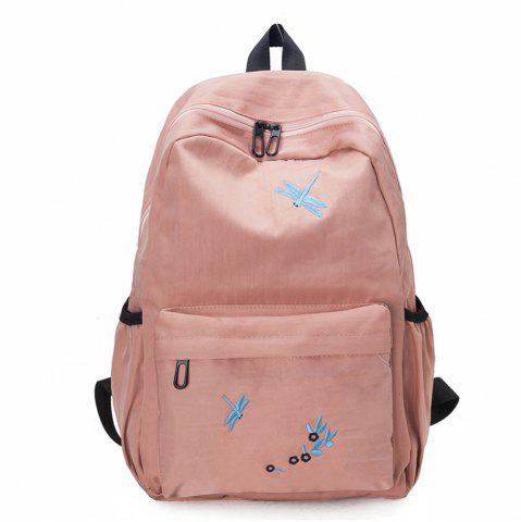 New Canvas Large Capacity Fashion Simple Cute Female Small Fresh Travel Backpack Tide