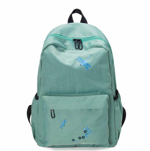 Sale Canvas Large Capacity Fashion Simple Cute Female Small Fresh Travel Backpack Tide