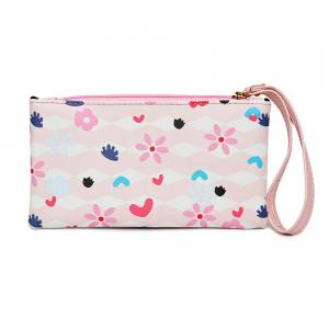 Fashion Painting Simple Wild Cute Female Clutch Bag Tide -