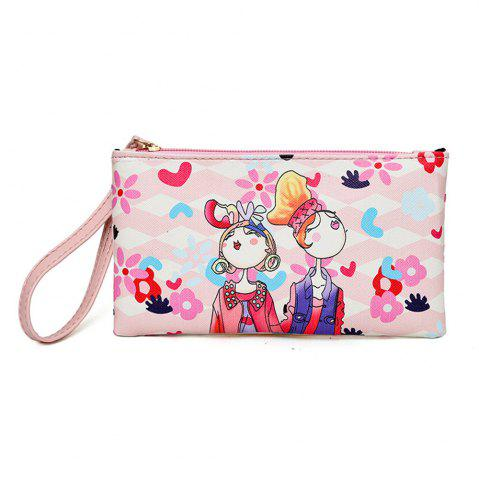 Latest Fashion Painting Simple Wild Cute Female Clutch Bag Tide