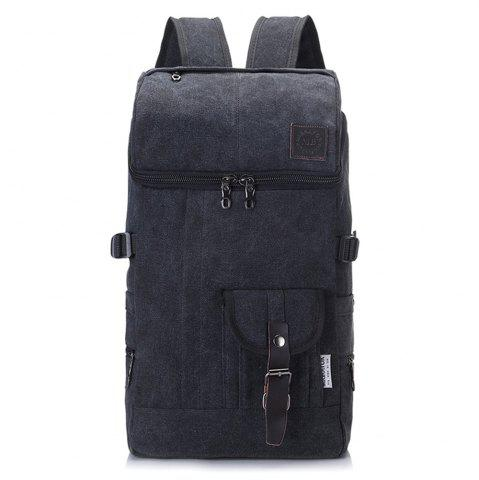 Online Fashion Simple Wild Large Capacity Male Outdoor Travel Canvas Backpack