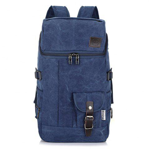 Outfits Fashion Simple Wild Large Capacity Male Outdoor Travel Canvas Backpack