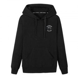 Hommes étudiants Pocket Stamp Hoodie -